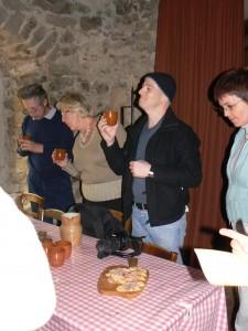 Hohlandsbourg : apéritif médiéval